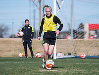Frisco, TX - February 16, 2016: The USWNT trains in preparation for the CONCACAF Women's Olympic Qualifying Tournament.