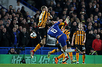 Danny Drinkwater of Chelsea takes a shot at the Hull City goal during Chelsea vs Hull City, Emirates FA Cup Football at Stamford Bridge on 16th February 2018