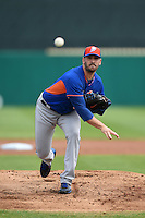 New York Mets pitcher Matt Harvey (33) during a Spring Training game against the St. Louis Cardinals on April 2, 2015 at Roger Dean Stadium in Jupiter, Florida.  The game ended in a 0-0 tie.  (Mike Janes/Four Seam Images)