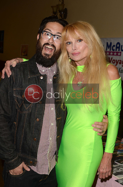 David McAbee, Laurene Landon<br /> at the San Fernando Valley Comic Book Convention, Granada Pavilion, Granada Hills, CA 08-14-16<br /> David Edwards/DailyCeleb.com 818-249-4998