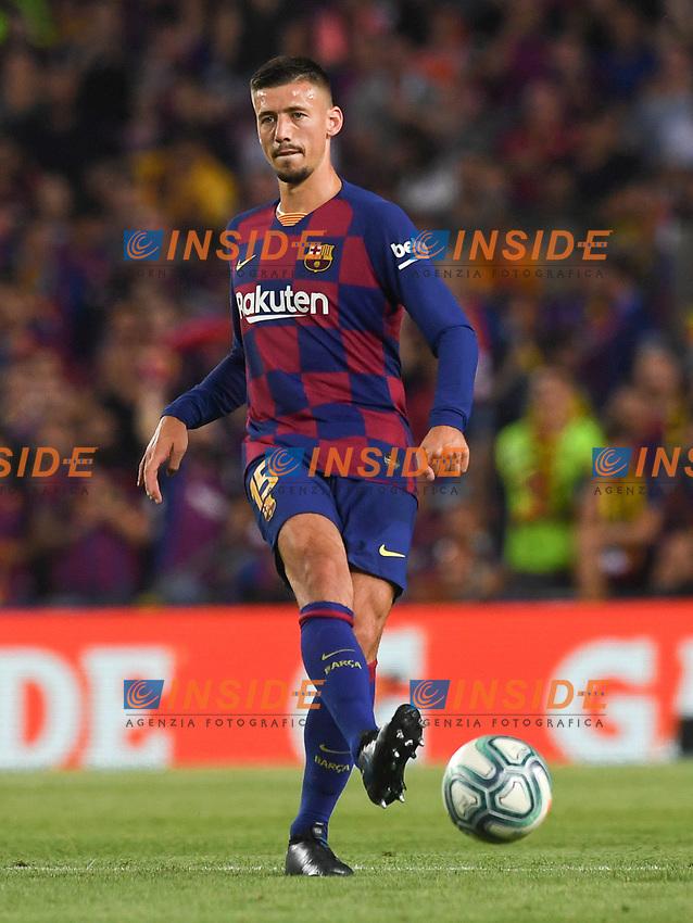 FOOTBALL: FC Barcelone vs Real Betis - La Liga-25/08/2019<br /> Clement Lenglet (FCB)  <br /> 25/08/2019 <br /> Barcelona - Real Betis  <br /> Calcio La Liga 2019/2020  <br /> Photo Paco Largo/Panoramic/insidefoto