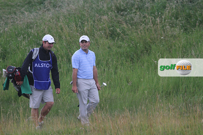 Francesco Molinari (ITA) on Day 4 of the Alstom Open de France at Golf National,  Saint-Quentin-En-Yvelines, Paris, France, 8/7/12...(Photo Jenny Matthews/www.golffile.ie)