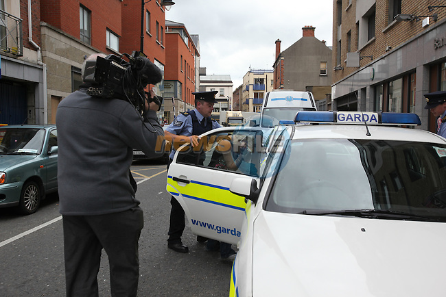 Michael Cruise (18) Roy Traynor (19) and Louise Wall (20).charged with the murder of Darren McKeown  on st stephens day 2007 at Drogheda District Court..Photo: Fran Caffrey/www.newsfile.ie...
