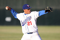 June 24th, 2007:  Leance Soto of the Auburn Doubledays, Class-A affiliate of the Toronto Blue Jays at Falconer Park in Auburn, NY.  Photo by:  Mike Janes/Four Seam Images