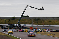 \\ during BTCC Qualifying  as part of the Dunlop MSA British Touring Car Championship - Rockingham 2018 at Rockingham, Corby, Northamptonshire, United Kingdom. August 12 2018. World Copyright Peter Taylor/PSP. Copy of publication required for printed pictures.