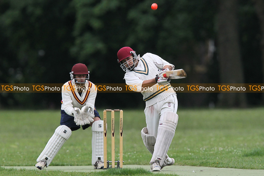 Rose & Crown CC (batting) vs Junoon CC - Victoria Park Community Cricket League at Victoria Park, London - 12/06/12 - MANDATORY CREDIT: Gavin Ellis/TGSPHOTO - Self billing applies where appropriate - 0845 094 6026 - contact@tgsphoto.co.uk - NO UNPAID USE.