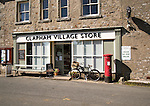 Clapham village stores shop, Clapham village,  Yorkshire Dales national park, England