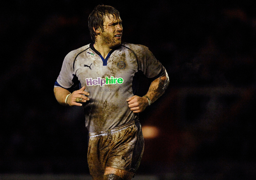 Photo: Richard Lane..NEC Harlequins v Bath Rugby. Guinness Premiership. 06/01/2007. .Bath's Andy Beattie.