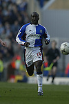 Dwight Yorke of blackburn - Blackburn Rovers v Arsenal - Premier League - Ewood Park Stadium - Blackburn - 15th March 2003 - Pics Simon Bellis