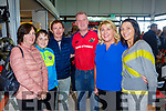 Anne, Martin and Mossie Scannell, Liam Galvin, Marie Dalton and Carol Fitztgerald pictured last Saturday at the opening of Dick Dalton's - Garden & Tools Supplies in Abbeyfeale