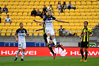 Melbourne Victory&rsquo;s Jai Ingham in action during the A League - Wellington Phoenix v Melbourne Victory FC at Westpac Stadium, Wellington, New Zealand on Sunday 3 December.<br /> Photo by Masanori Udagawa. <br /> www.photowellington.photoshelter.com