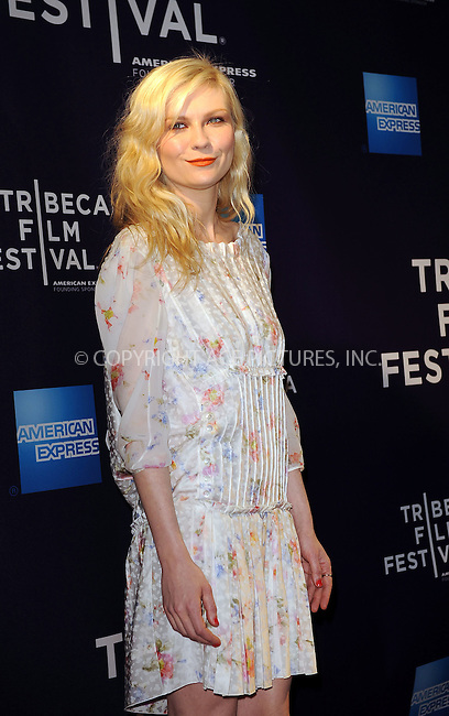WWW.ACEPIXS.COM . . . . . ....April 23 2010, New York City....Actress Kirsten Dunst arriving at a screening of 'Between The Lines' during the 9th Annual Tribeca Film Festival at the Village East Cinema on April 23, 2010 in New York City....Please byline: KRISTIN CALLAHAN - ACEPIXS.COM.. . . . . . ..Ace Pictures, Inc:  ..(212) 243-8787 or (646) 679 0430..e-mail: picturedesk@acepixs.com..web: http://www.acepixs.com