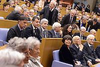 """Roma, 31 Marzo 2015<br /> Marina Sereni, Giorgio Napolitano e Sergio Mattarella<br /> Camera dei Deputati<br /> Convegno """"Perche la politica"""" in occasione dei 100 anni di Pietro Ingrao."""