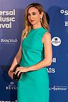 Actress Marta Hazas attends the photocall of Antonio Orozco´s concert during Universal Music Festival. July 27, 2019. (ALTERPHOTOS/Johana Hernández)