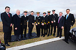 Long service award recipients pictured at Valentia Radio Station on Friday were l-r; Brendan Griffin T.D., Minister Jimmy Deenihan, John Draper Div. Controller Valentia Radio Station, Minister Paschal Donohoe, Chris Reynolds Director Irish Coast Guards, Jerry O'Brien - Radio Officer(12 years), John Geoghegan - Radio Officer (10 years), Tony Donnelly - O.I.C. Waterville Coast Guard Unit (33 years), Danny Lynch Ret. Radio Officer(32 years) & Cllr.Patrick O'Connor-Scarteen.