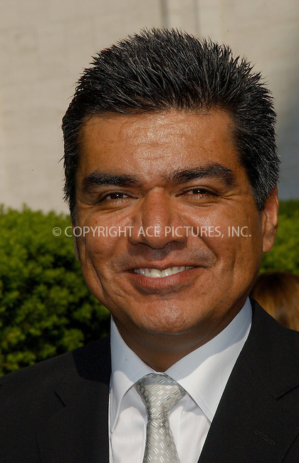 WWW.ACEPIXS.COM . . . . .....May 16, 2006, New York City ....Actor George Lopez arriving at the ABC 2006-2007..Upfronts.....Please byline: KRISTIN CALLAHAN - ACEPIXS.COM.. . . . . . ..Ace Pictures, Inc:  ..(212) 243-8787 or (646) 679 0430..e-mail: picturedesk@acepixs.com..web: http://www.acepixs.com