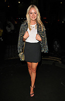 Ella Wills at the LFW s/s 2018 Vin + Omi catwalk show &amp; afterparty, Andaz Liverpool Street Hotel, Liverpool Street, London, England, UK, on Monday 11 September 2017.<br /> CAP/CAN<br /> &copy;CAN/Capital Pictures