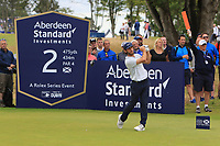 Romain Wattel (FRA) on the 2nd during Round 4 of the Aberdeen Standard Investments Scottish Open 2019 at The Renaissance Club, North Berwick, Scotland on Sunday 14th July 2019.<br /> Picture:  Thos Caffrey / Golffile<br /> <br /> All photos usage must carry mandatory copyright credit (© Golffile | Thos Caffrey)