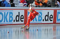 SCHAATSEN: BOEDAPEST: Essent ISU European Championships, 08-01-2012, 10000m Men, Jan Szymanski POL, ©foto Martin de Jong