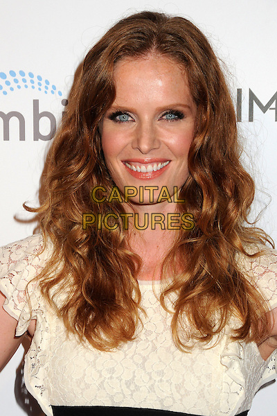 "Rebecca Mader.""Aim High"" Los Angeles Premiere held at Trousdale, West Hollywood, California, USA..October 18th, 2011.headshot portrait white lace .CAP/ADM/BP.©Byron Purvis/AdMedia/Capital Pictures."