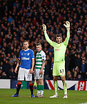 08.11.2019 League Cup Final, Rangers v Celtic: Fraser Forster