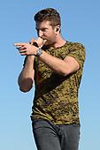 FORT LAUDERDALE FL - APRIL 07: Brett Eldredge performs during the Tortuga Music Festival held at Fort Lauderdale Beach on April 07, 2017 in Fort Lauderdale, Florida. : Credit Larry Marano © 2017