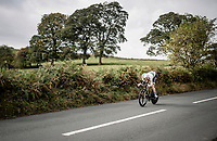 Luke Durbridge (AUS/Mitchelton-Scott)<br /> Elite Men Individual Time Trial<br /> from Northhallerton to Harrogate (54km)<br /> <br /> 2019 Road World Championships Yorkshire (GBR)<br /> <br /> ©kramon