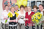 DAFFODILS: Helping out at the coffee morning in aid of Killarney Hospice in the Killarney Towers Hotel on Friday were, l-r: Betty OSullivan, Breda Moriarty, Timmy Moriarty, Anne Moynihan, Maureen Fogarty, Sr. Anna Marie, Kathleen OShea and Eugene OSullivan..