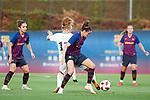 FC Barcelona vs Montpellier HSC: 1-2.<br /> Janice Cayman vs Melanie Serrano.
