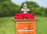 Bethesda, MD - July 1, 2018: A shot of the Quicken Loans National Championship trophy at the Quicken Loans National Tournament at TPC Potomac at Avenel Farm in Bethesda, MD.  (Photo by Phillip Peters/Media Images International)