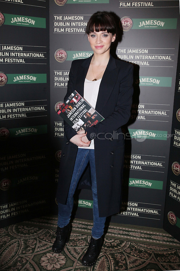 25/1/2011. Jameson Dublin International Film Festival Actress Charlene McKenna (Raw, Dorothy Mills} is pictured at the Merrion hotel for the launch of the launch 9th Jameson Dublin International Film Festival Programme. The full programme will be available on the website www.jdiff.com from midnight on 25th Jan, with tickets going on sale online and through the ticketing office on 01 687 7974. The festival also has a new free iPhone and Android app to download for a full list of festival events. The Jameson Dublin International Film Festival, Ireland's premiere film event, takes place from the 17th-27th February 2011. For these 11 days Picture James Horan/Collins
