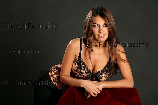Milano, 25/01/07. Michelle Nouri