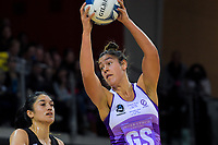 Maia Wilson in action during the 2019 ANZ Premiership netball final match between the Central Pulse and Northern Stars at Te Rauparaha Arena in Wellington, New Zealand on Monday, 3 June 2019. Photo: Dave Lintott / lintottphoto.co.nz