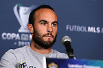 30 November 2012: Los Angeles' Landon Donovan. The Los Angeles Galaxy held a press conference at the Home Depot Center in Carson, California in preparation for playing the Houston Dynamo in MLS Cup 2012.