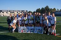 THHS Girls Soccer 17-18 Senior Night