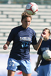 08 November 2009: North Carolina's Sterling Smith. The University of North Carolina Tar Heels defeated the Florida State University Seminoles 3-0 at WakeMed Stadium in Cary, North Carolina in the Atlantic Coast Conference Women's Soccer Tournament Championship game.