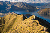 NEW ZEALAND, Wanaka, The View over the Southern Alps from Roys Peak, Ben M Thomas