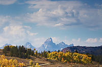Autumn,  Grand Tetons, Gros Ventre River Valley, Jackson Hole, Wyoming