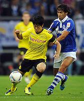 FUSSBALL   1. BUNDESLIGA   SAISON 2011/2012   SUPERCUP FC Schalke 04 - Borussia Dortmund            23.07.2011 Shinji KAGAWA (li, Dortmund) gegen RAUL (re, Schalke)