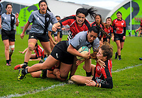 170902 1st XV Girls Hurricanes Rugby Final - St Mary's College v Manukura College