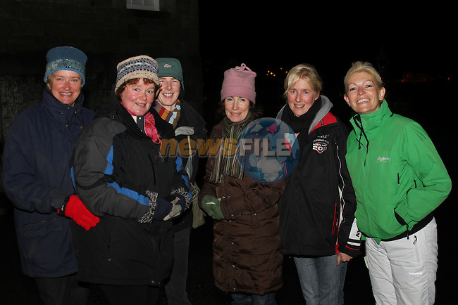 Shirley Hoyne, Niamh Mullen, Suan Byrne, Maria Melvin, Barbara Harford and Carol Boshell at the Ghost Tour at Millmount...(Photo credit should read Jenny Matthews www.newsfile.ie)....This Picture has been sent you under the condtions enclosed by:.Newsfile Ltd..The Studio,.Millmount Abbey,.Drogheda,.Co Meath..Ireland..Tel: +353(0)41-9871240.Fax: +353(0)41-9871260.GSM: +353(0)86-2500958.email: pictures@newsfile.ie.www.newsfile.ie.