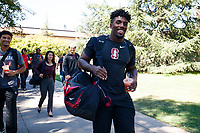 Stanford, CA - September 6, 2019:  Stanford Football travels to Los Angeles for its game with USC.