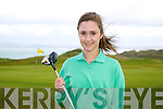 Catriona Griffin (Killarney) first cap of Ireland against Notre Dame Women's Golf Team USA at Tralee Golf Club Barrow on Tuesday