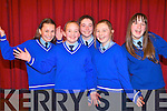 Pupils enjoying the World-Renowned Cross Border Orchestra of Ireland  at the INEC on Thursday last. .Front L-R Rebecca Sealy,and Molly O'Donnell. .Back L-R Dominika Jevstafjeva, Orla Healy and Mikaela O'Sullivan from Scoil Mhuire Killorglin.