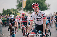 Bauke Mollema  (NED/Trek-Segafredo) rolling in<br /> <br /> Stage 7: Fougères > Chartres (231km)<br /> <br /> 105th Tour de France 2018<br /> ©kramon