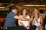 Robert Bogue - Liz Keifer - Mandy Bruno - Fans and Liz Keifer play bingo and have a Meet & Greet - Day 2 - August 1, 2010 - So Long Springfield at Sea aboard Carnival's Glory (Photos by Sue Coflin/Max Photos)