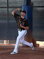 Seth Frankoff - San Diego Padres 2020 spring training (Bill Mitchell)