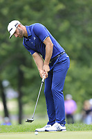 Dustin Johnson (USA) putts on the 2nd green during Sunday's Final Round of the WGC Bridgestone Invitational 2017 held at Firestone Country Club, Akron, USA. 6th August 2017.<br /> Picture: Eoin Clarke | Golffile<br /> <br /> <br /> All photos usage must carry mandatory copyright credit (&copy; Golffile | Eoin Clarke)