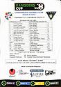 Teamsheet Cowdenbeath FC v Dunfermline FC 27th Jul 2013