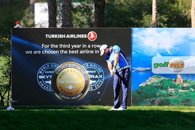 Join Parry (ENG) during round 3 of the Turkish Airlines Open presented by the Ministry of Tourism and Culture, hosted at the The Montgomerie Maxx Royal,Antalya,Turkey.<br /> Picture: Fran Caffrey www.golffile.ie